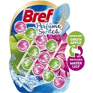 BREF Parfume Switch Apple-Water Lily  3 × 50 g - WC blok