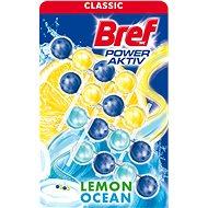 BREF Power Aktiv Lemon & Ocean 4× 50 g  - WC blok