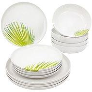 Clay Green, 12 pcs - Dish Set