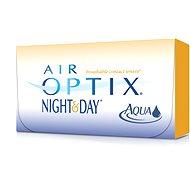 Air Optix Night and Day Aqua (3čočky) dioptrie: -0.50, zakřivení: 8.60 - Kontaktní čočky