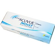 1 Day Acuvue Moist (30čoček) dioptrie: +4.50, zakřivení: 9.00 - Kontaktní čočky
