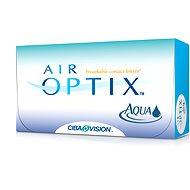 Air Optix Aqua (6čoček) dioptrie: -7.50, zakřivení: 8.60 - Kontaktní čočky