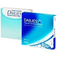 Dailies AquaComfort Plus (90čoček) dioptrie: +0.75, zakřivení: 8.70 - Kontaktní čočky