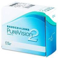 PureVision 2 HD (6čoček) dioptrie: +1.50, zakřivení: 8.60 - Kontaktní čočky