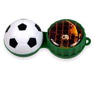 Pouzdro na kontaktní čočky Optipak 3D pouzdro - fotbal