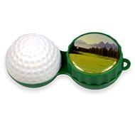 Pouzdro na kontaktní čočky Optipak 3D pouzdro - golf