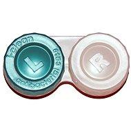 Pouzdro na kontaktní čočky Optipak anti-bakteriální pouzdro - zelené