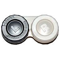 Pouzdro na kontaktní čočky Optipak anti-bakteriální pouzdro - stříbrné