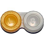 Pouzdro na kontaktní čočky Optipak anti-bakteriální pouzdro - žluté