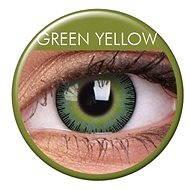 ColourVUE - Fusion (2 čočky) barva: Green Yellow - Kontaktní čočky