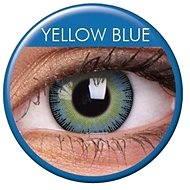 ColourVUE - Fusion (2 čočky) barva: Yellow Blue - Kontaktní čočky