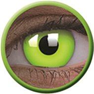 ColourVue Crazy UV svítící - Glow Green, roční, nedioptrické, 2 čočky - Kontaktní čočky