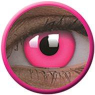 ColourVue Crazy UV svítící - Glow Pink, roční, nedioptrické, 2 čočky - Kontaktní čočky