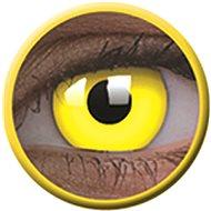 ColourVue Crazy čočky UV svítící - Glow Yellow (2 ks roční) - nedioptrické - Kontaktní čočky