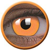 ColourVue Crazy čočky UV svítící - Glow Orange (2 ks roční) - nedioptrické - Kontaktní čočky