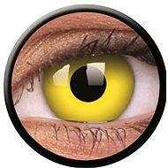 ColourVUE Crazy Lens (2 čočky), barva: Yellow - Kontaktní čočky