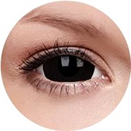 ColourVUE Crazy Lens (2 čočky), barva: Black Titan - Kontaktní čočky