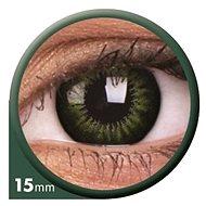 ColourVUE dioptrické Big Eyes (2 čočky), barva: Be party green, dioptrie: -4.50 - Kontaktní čočky