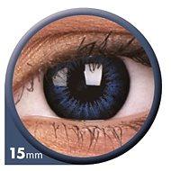 ColourVUE dioptrické Big Eyes (2 čočky), barva: Be cool blue, dioptrie: -7.00 - Kontaktní čočky
