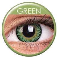 ColourVUE dioptrické 3 Tones (2 čočky), barva: Green, dioptrie: -6.50 - Kontaktní čočky