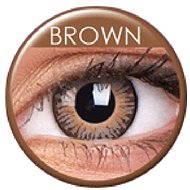 ColourVUE dioptrické 3 Tones (2 čočky), barva: Brown, dioptrie: -6.50 - Kontaktní čočky