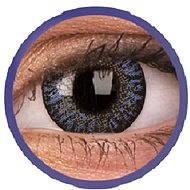 ColourVUE dioptrické TruBlends (10 čoček), barva: Blue, dioptrie: -5.50 - Kontaktní čočky