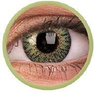 ColourVUE dioptrické TruBlends (10 čoček), barva: Green, dioptrie: -4.00 - Kontaktní čočky