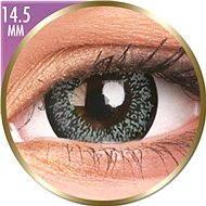 ColourVUE dioptrické Phantasee Big Eyes (2 čočky), barva: Pearl Grey, dioptrie: -2.25 - Kontaktní čočky