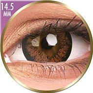 ColourVUE dioptrické Phantasee Big Eyes (2 čočky), barva: Angel Hazel, dioptrie: -5.50 - Kontaktní čočky