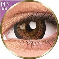 ColourVUE dioptrické Phantasee Big Eyes (2 čočky), barva: Angel Hazel, dioptrie: -7.00 - Kontaktní čočky