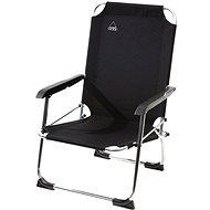 Camp Gear Tip-up seat low 600D alu black