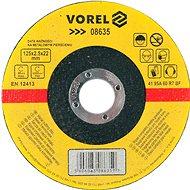 Řezný kotouč Vorel Kotouč na kov 125 x 22 x 2,5 mm