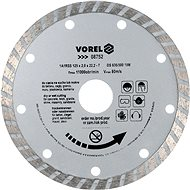Vorel Kotouč diamantový 125 x 22,2 x 2,0 mm turbo - Diamantový kotouč