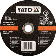 Yato Kotouč na kov 115 x 22 x 2,5 mm - Řezný kotouč