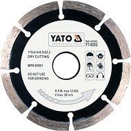 Yato Kotouč diamantový 115 x 22,2 x 2,1 mm - Diamantový kotouč