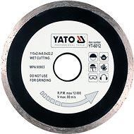Yato Kotouč diamantový 115 x 22,2 x 2,1 mm hladký - Diamantový kotouč