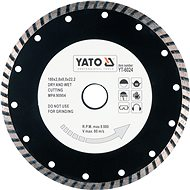 Yato Kotouč diamantový 180 x 22,2 x 2,8 mm turbo - Diamantový kotouč