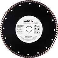 Yato Kotouč diamantový 230 x 22,2 x 3,1 mm turbo - Diamantový kotouč