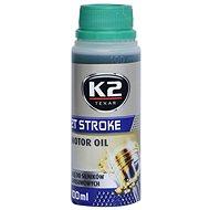 K2 TEXAR 2T STROKE 100ml ZELENÝ - Polosynt. 2takt. olej - Motorový olej