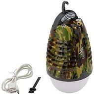 Cattara Svítilna PEAR ARMY nabíjecí + lapač hmyzu - Lapač hmyzu