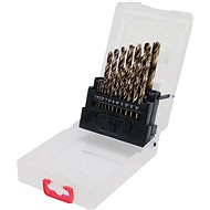 YATO Sada vrtáků na kov 19ks HSS-COBALT 1-10mm - Sada vrtáků do železa
