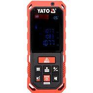 YATO Laserový měřič vzdálenosti 0.2-40M, 10 režimů - Laserový dálkoměr