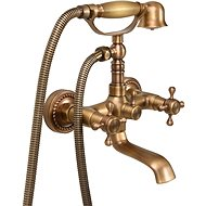 Bath Mixer Tap Retro Bronze 1