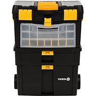 Vorel Tool Cabinet with Removable Organizer - Cabinet