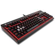 Corsair Gaming STRAFE RED LED Cherry MX Red (CZ) - Klávesnice
