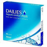 Dailies AquaComfort Plus (90 lenses) - Contact Lenses