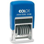 COLOP S 126 Mini-Folio, číslovací - Razítko