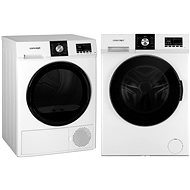 CONCEPT PP6508i + CONCEPT SP6508 Washer and Dryer Set - Washer and dryer set