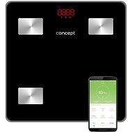 CONCEPT VO4001 Osobní váha diagnostická 180 kg PERFECT HEALTH, černá - Osobní váha