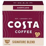 Costa Coffee Signature Blend Americano 16 porcí - kompatibilní s kávovary Nescafé® Dolce Gusto - Kávové kapsle